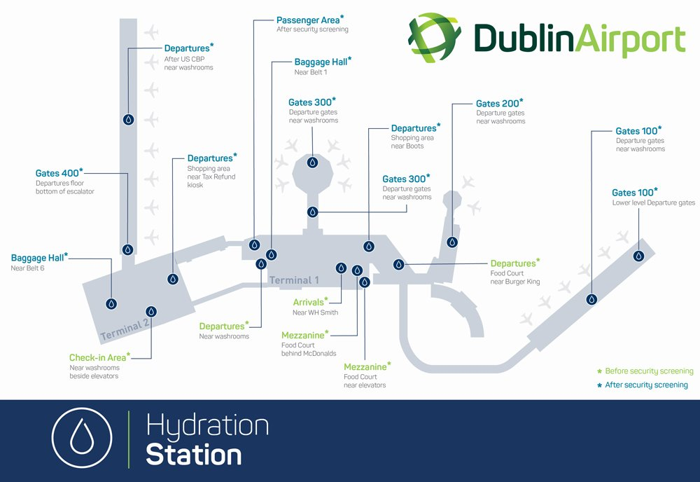 Map of Dublin Airport