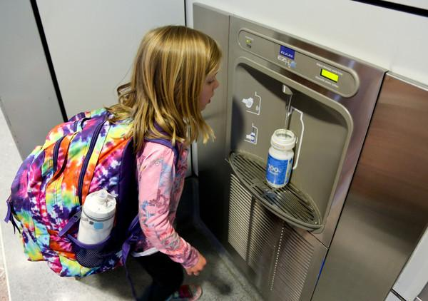 Water Bottle Filling Station LAX