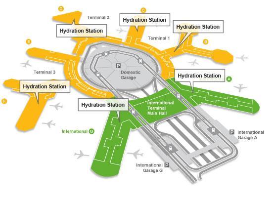 Map of SFO